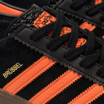 Кроссовки adidas Originals Brussels Core Black/Orange/Gold Metallic фото- 6