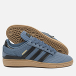 Кроссовки adidas Originals Busenitz Blue/Black фото- 1
