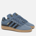 Кроссовки adidas Originals Busenitz Blue/Black фото- 2