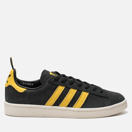 Кроссовки adidas Originals Campus Core Black/Yellow/Core White