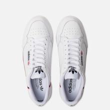 Кроссовки adidas Originals Continental 80 Cloud White/Scarlet/Collegiate Navy фото- 1
