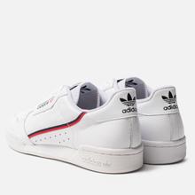 Кроссовки adidas Originals Continental 80 Cloud White/Scarlet/Collegiate Navy фото- 2