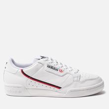 Кроссовки adidas Originals Continental 80 Cloud White/Scarlet/Collegiate Navy фото- 3