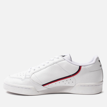 Кроссовки adidas Originals Continental 80 Cloud White/Scarlet/Collegiate Navy фото- 5