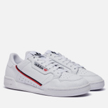 Кроссовки adidas Originals Continental 80 Cloud White/Scarlet/Collegiate Navy фото- 0
