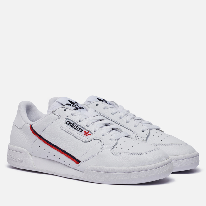 Кроссовки adidas Originals Continental 80 Cloud White/Scarlet/Collegiate Navy