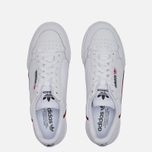 Кроссовки adidas Originals Continental 80 Cloud White/Scarlet/Collegiate Navy фото- 1