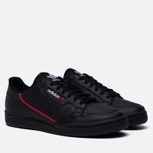 Кроссовки adidas Originals Continental 80 Core Black/Scarlet/Collegiate Navy фото- 3