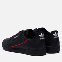 Кроссовки adidas Originals Continental 80 Core Black/Scarlet/Collegiate Navy