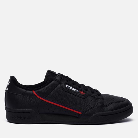 Кроссовки adidas Originals Continental 80 Core Black/Scarlet/Collegiate Navy