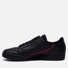 Кроссовки adidas Originals Continental 80 Core Black/Scarlet/Collegiate Navy фото- 1