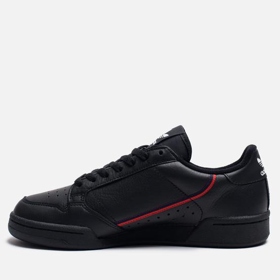 Кроссовки adidas Originals Continental 80 Rascal Core Black/Scarlet/Collegiate Navy