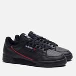 Кроссовки adidas Originals Continental 80 Rascal Core Black/Scarlet/Collegiate Navy фото- 2
