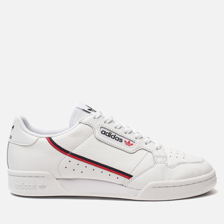 Кроссовки adidas Originals Continental 80 Rascal White/Scarlet/Collegiate Navy