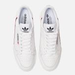 Кроссовки adidas Originals Continental 80 Rascal White/Scarlet/Collegiate Navy фото- 3