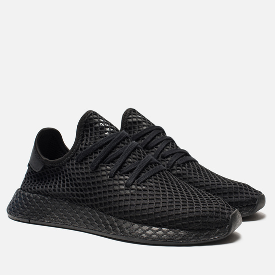 Кроссовки adidas Originals Deerupt Runner Core Black/White/Core Black