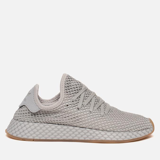 73e28ae6e Кроссовки adidas Originals Deerupt Runner Grey Three Light Solid Grey Gum  ...