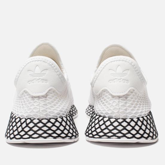 Кроссовки adidas Originals Deerupt Runner White/White/Core Black