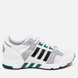 Кроссовки adidas Originals EQT Running Cushion 93 Vintage White/Core Black/Green фото- 0