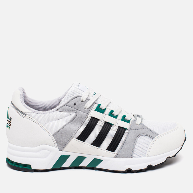 Кроссовки adidas Originals EQT Running Cushion 93 Vintage White/Core Black/Green