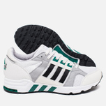 Кроссовки adidas Originals EQT Running Cushion 93 Vintage White/Core Black/Green фото- 2
