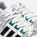 Кроссовки adidas Originals EQT Running Cushion 93 Vintage White/Core Black/Green фото- 5