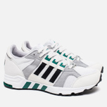 Кроссовки adidas Originals EQT Running Cushion 93 Vintage White/Core Black/Green фото- 1