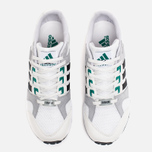 Кроссовки adidas Originals EQT Running Cushion 93 Vintage White/Core Black/Green фото- 4
