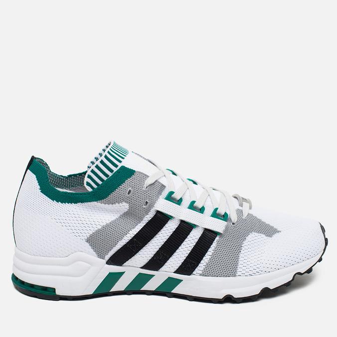 adidas Originals EQT Running Guidance 93 Primeknit Sneakers White/Grey/Green