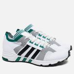 adidas Originals EQT Running Guidance 93 Primeknit Sneakers White/Grey/Green photo- 1