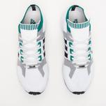 adidas Originals EQT Running Guidance 93 Primeknit Sneakers White/Grey/Green photo- 4