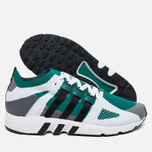 Кроссовки adidas Originals EQT Running Guidance Primeknit Grey/Black/Green фото- 2