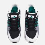 Кроссовки adidas Originals EQT Support 93/16 Vintage Core Black/White/Green фото- 4