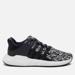 Кроссовки adidas Originals EQT Support 93/17 Core Black/Core Black/Running White фото- 0