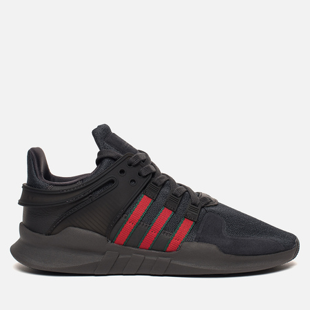 Кроссовки adidas Originals EQT Support ADV Utility Black/Scarlet/Core Green