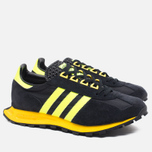 Кроссовки adidas Originals Formel 1 Core Black/Solar Yellow фото- 1
