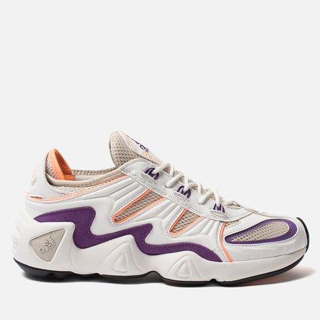 Кроссовки adidas Originals FYW S-97 Crystal White/Crystal White/Flash Orange