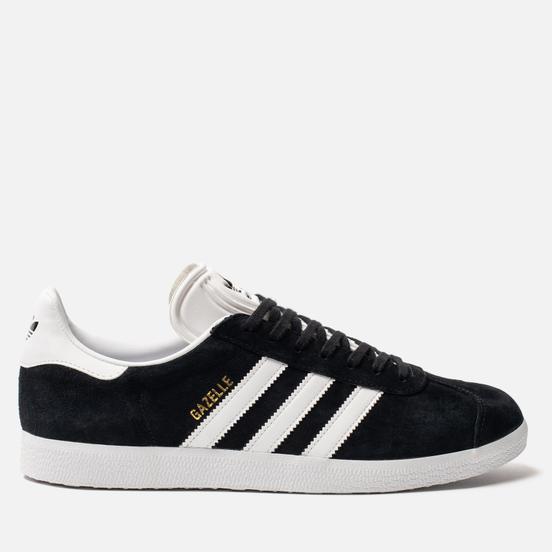 Кроссовки adidas Originals Gazelle Black/White/Gold Metallic