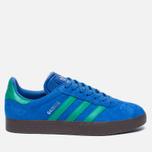 Кроссовки adidas Originals Gazelle Blue/Core Green/Gum фото- 0