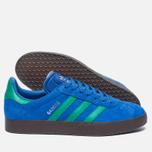Кроссовки adidas Originals Gazelle Blue/Core Green/Gum фото- 1