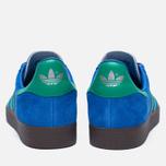 Кроссовки adidas Originals Gazelle Blue/Core Green/Gum фото- 3