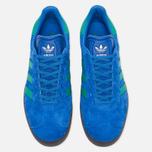 Кроссовки adidas Originals Gazelle Blue/Core Green/Gum фото- 4