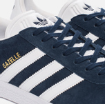 Кроссовки adidas Originals Gazelle Collegiate Navy/White/Gold Metallic фото- 5