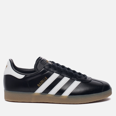 Кроссовки adidas Originals Gazelle Core Black/White/Gold Metallic