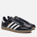 Кроссовки adidas Originals Gazelle Core Black/White/Gold Metallic фото- 1