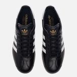 Кроссовки adidas Originals Gazelle Core Black/White/Gold Metallic фото- 4