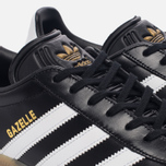 Кроссовки adidas Originals Gazelle Core Black/White/Gold Metallic фото- 5