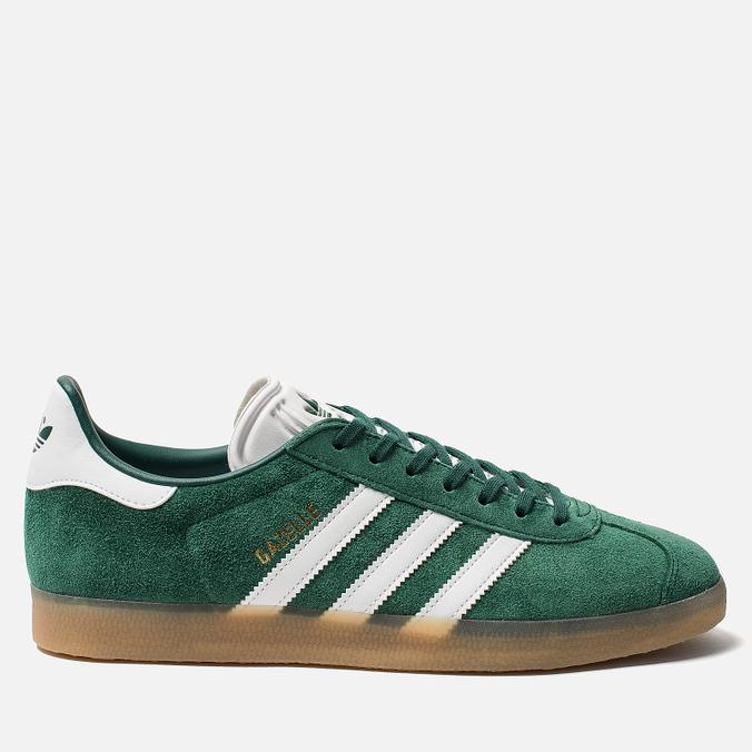 4574518a Кроссовки adidas Originals Gazelle Core Green/White/Gum DA8872