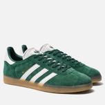 Кроссовки adidas Originals Gazelle Core Green/White/Gum фото- 2