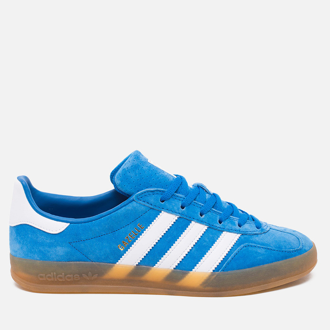 adidas Originals Gazelle Indoor Sneakers Blue Bird/White